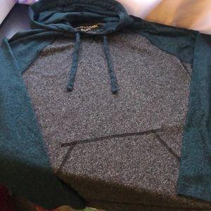 Men's Tony Hawk Hooded Long Sleeve Shirt
